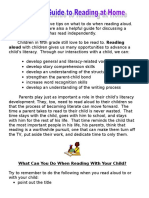reading parent guide