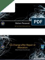 Beban Pesawat 2013 - 08 CG Change after Repair or Alteration.pdf
