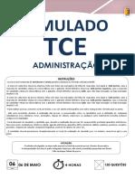 Simulados e Gabarito TCE SC 2016