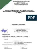 Diagnóstico dieléctrico