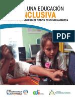 Cartilla Hacia Una Educación Inclusiva Gobernación de Cundinamarca