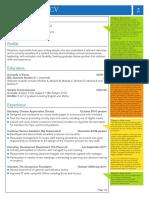 Example Skills CV