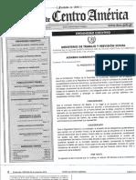 Acuerdo Gubernativo 288-2016
