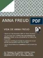 TEORIA DE ANNA FREUD