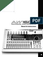 Manual Aw1600 Es Om
