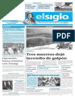 Edición Impresa Elsiglo 09-02-2017