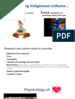 indigenous knowledge - part b