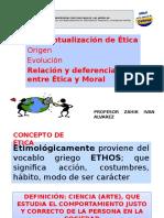 Sumergiéndose a la ética y moral