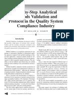 HPLC Method Validation