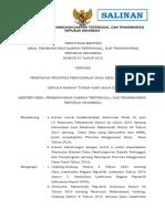 Permendesa No 21 Th 2015 Ttg Penetapan Prioritas Dana Desa Tahun 2016