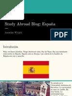 study abroad blog- espana  1