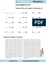 2do Grado - Matemáticas - Suma o Resta