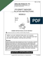DJ3,D3,I,IL,XL,HD Instruction Manual