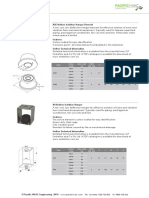 Ancillaries Vibration Isolators Product Data