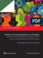MENTES Y COMPORTAMIENTOS EN EL TRABAJO