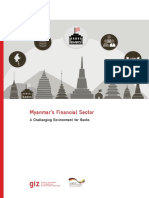 Report Myanmar Financial Sector - A Challenging Environment for Banks Nov2013