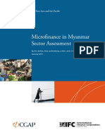 Microfinance in Myanmar Sector Assessment