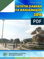 Statistik Daerah Kota Banjarmasin 2016