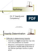 Chapter 5 - Insanity and Competency