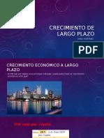 Crecimiento de Largo Plazo curso intro a la economía ucr costa rica