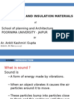 Sound Noise and Materials