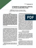 POULTON Pontencial Cianogenesis Mature Fruit (92)