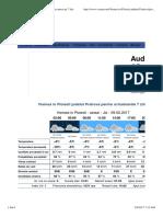 Vremea in Ploiesti Judetul Prahova, Prognoza Meteo Pe 7 Zile_09.0217