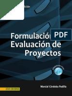 Formulación y Evaluación de Proyectos Vista Preliminar Del Libro