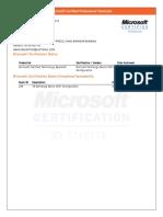 MS Learning Transcript (1)