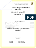 Practica 5 Laboratorio Integral II