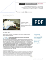 Anesthesia for Pancreatic Disease