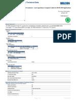 LV Wiring Data Sheet