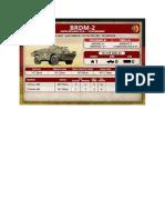 Team Yankee - Unit Card - Volksarmee - BRDM-2 Aufklärungszug