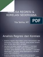 Teori Prob Analisa Regresi Korelasi Sederhana MG5