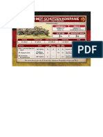 Team Yankee - Unit Card - Volksarmee - BTR-60 Mot-Schützenkompanie - Heavy Weapons