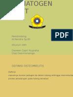 Ppt Osteomielitis Deswan