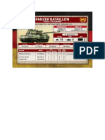 Team Yankee - Unit Card - Volksarmee - T-55AM2 Panzerbatallion HQ