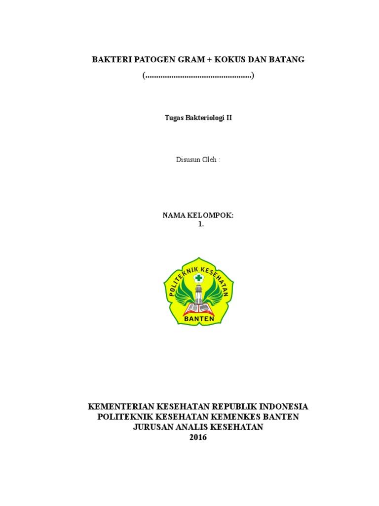 Contoh Cover Untuk Makalah Docx