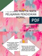 PERANAN PANITIA MATA PELAJARAN PENDIDIKAN MORAL.pptx