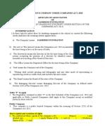 Samridhi Foundation Draft Aoa