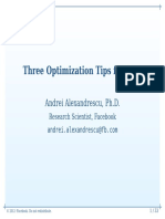 3 Optimization Tips C++