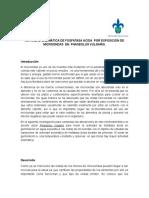 ACTIVIDAD ENZIMÁTICA DE FOSFATASA ÁCIDA  POR EXPOSICIÓN DE MICROONDAS  EN  PHASEOLUS VULGARIS