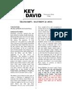 Key Of David Transcript 0704
