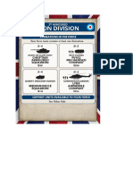 Team Yankee - Unit Card - GB - 3rd Armoured Iron Division