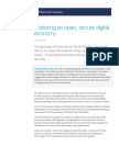Open Secure Digital Economy