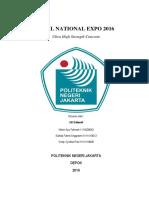 Proposal Lomba Beton Nasional- III SRIKANDI PNJ