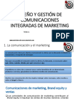 Diseño y Gestion Comunicaciones Integradas de Marketing