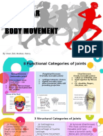 articular and body movement