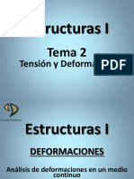 Tensión y Deformaciones
