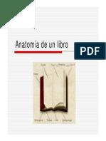 Anatomía de Un Libro